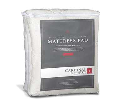 Overfilled Pillow Top Mattress Pad