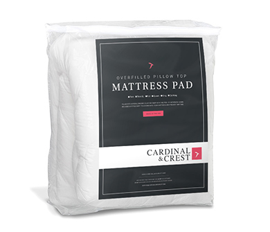 Overfilled Bamboo Deluxe Pillow Top Mattress Pad